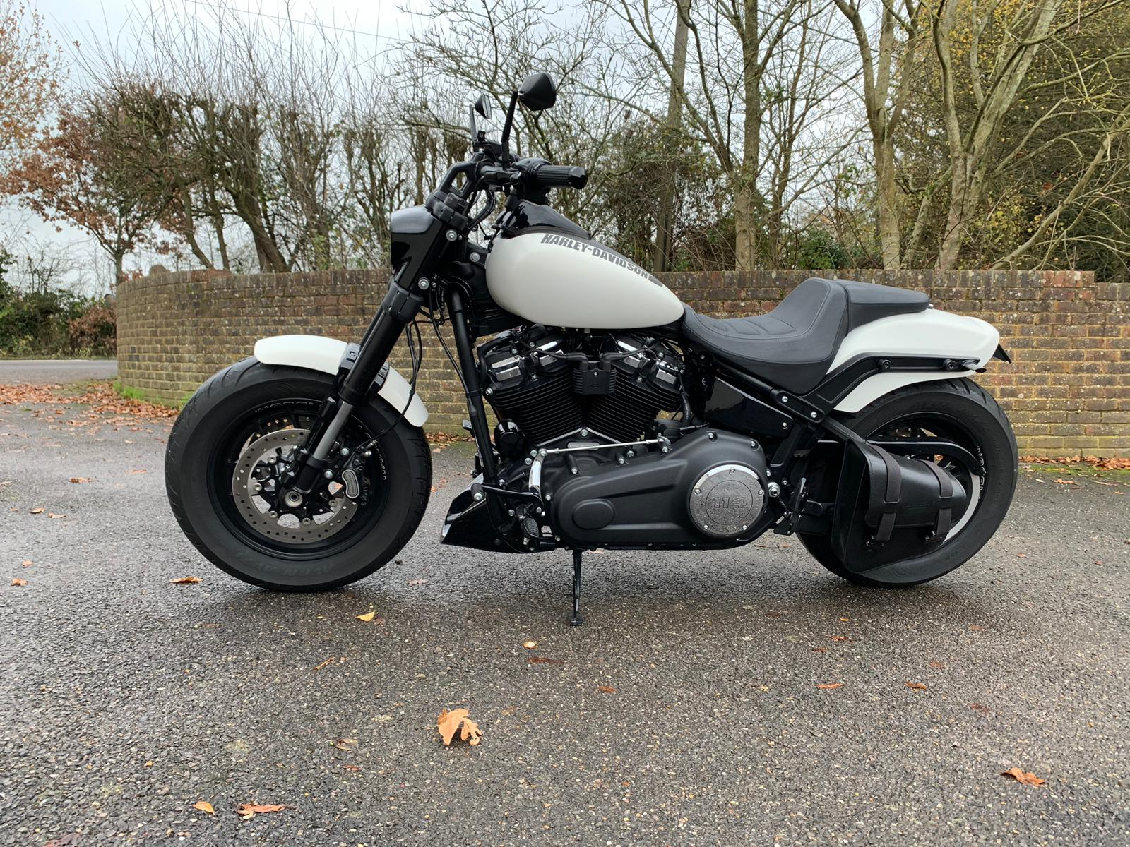 2018/19 softail chin spoiler / belly pan