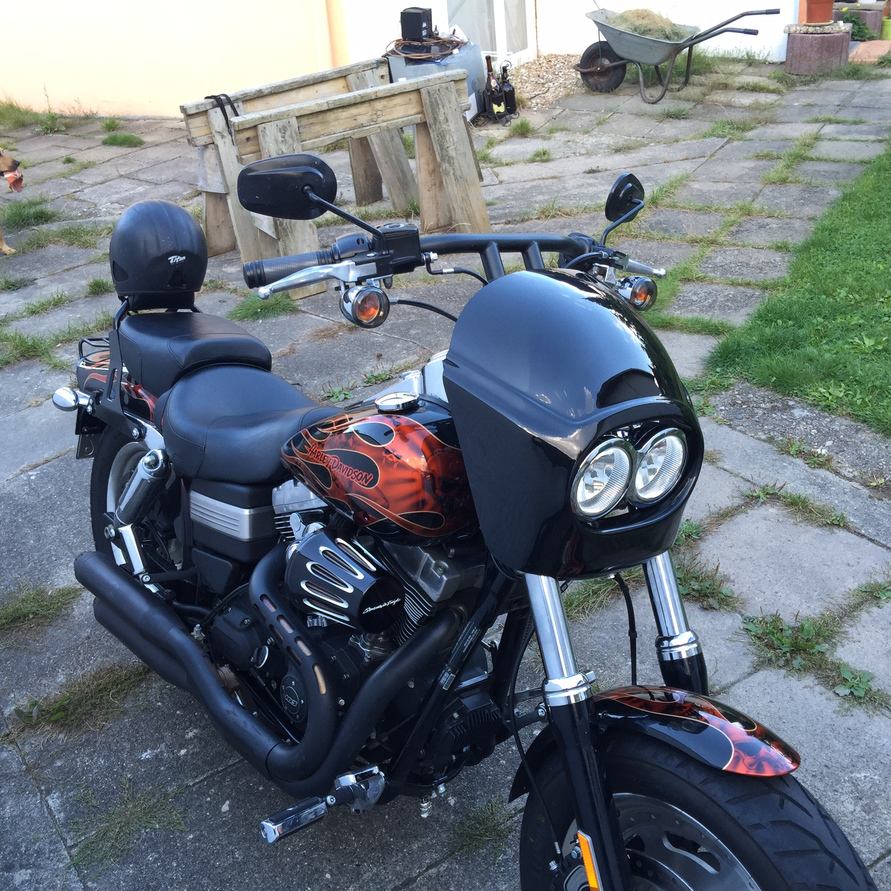 THE FXDF FATBOB ROCKET FAIRING KIT